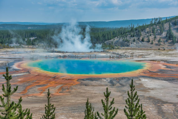 Grand Prismatic – Midway Geyser Basin, Yelllowstone National Park – Part 6