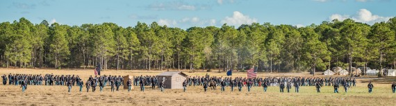 Brooksville Raid 2016 – Civil War Re-enactment