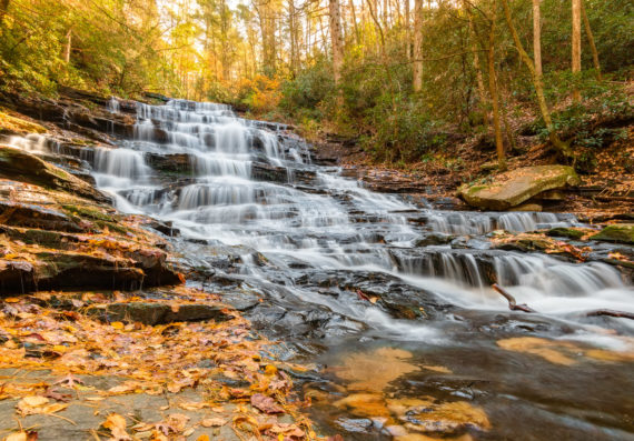 North Georgia – Fall Colors and Waterfalls – 2018